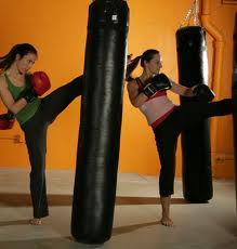 Warrior Fit Women kickboxing in Boise
