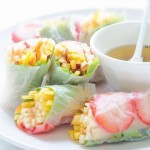 Summer Fruit Spring Rolls from TheKitchn