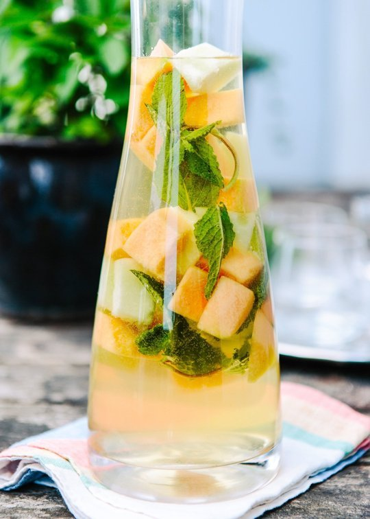 Mixed Melon and Limoncello Sangria