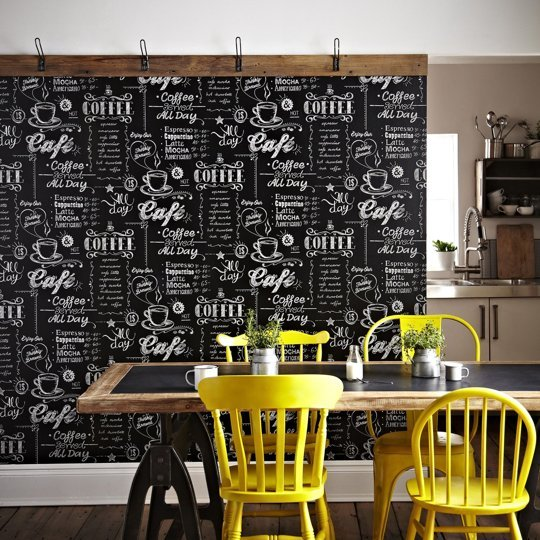 Spruce Up Your Kitchen with Temporary Wallpaper — Apartment Therapy ...